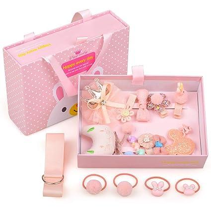 SUNTOY Kit de Pinzas para el Cabello para niñas Niños ...