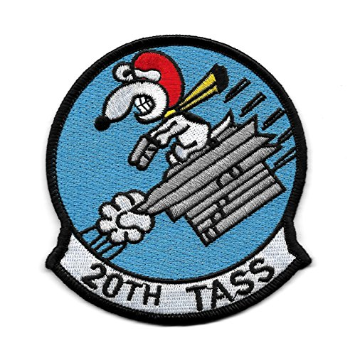 USAF 20th TASS Snoopy Collectors Patch