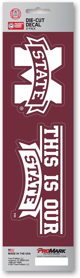 "Mississippi State Bulldogs NCAA Vinyl Car Bumper Window Sticker Decal 5/""X4.2/"""