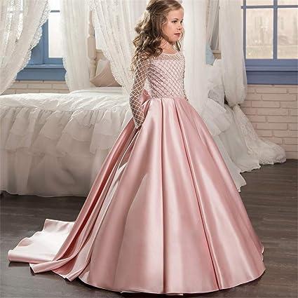 Vestidos de fiesta para niños pequeños Anfitrión de cumpleaños Vestido de fiesta Vestido de gala Vestido