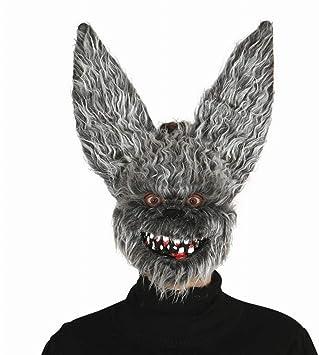 Guirca 2563 - Mascara Murcielago Maligno con Pelo