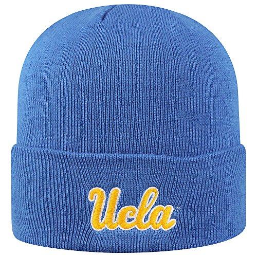 Elite Fan Shop UCLA Bruins Knit Winter Beanie Cuffed Hat Blue (Ucla Fan Bruins)