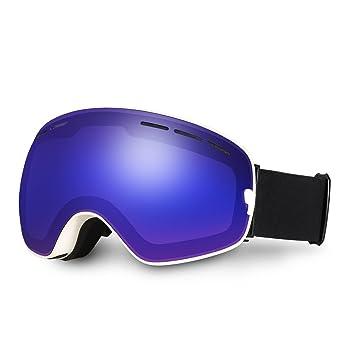 ski goggles  Amazon.com : Ski Goggles, Hicool Pro Ski Snowboard Skating Goggle ...