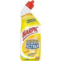 Harpic Frescura Activa Líquido Removedor de Sarro Fragancia Cítrica, 750 ml