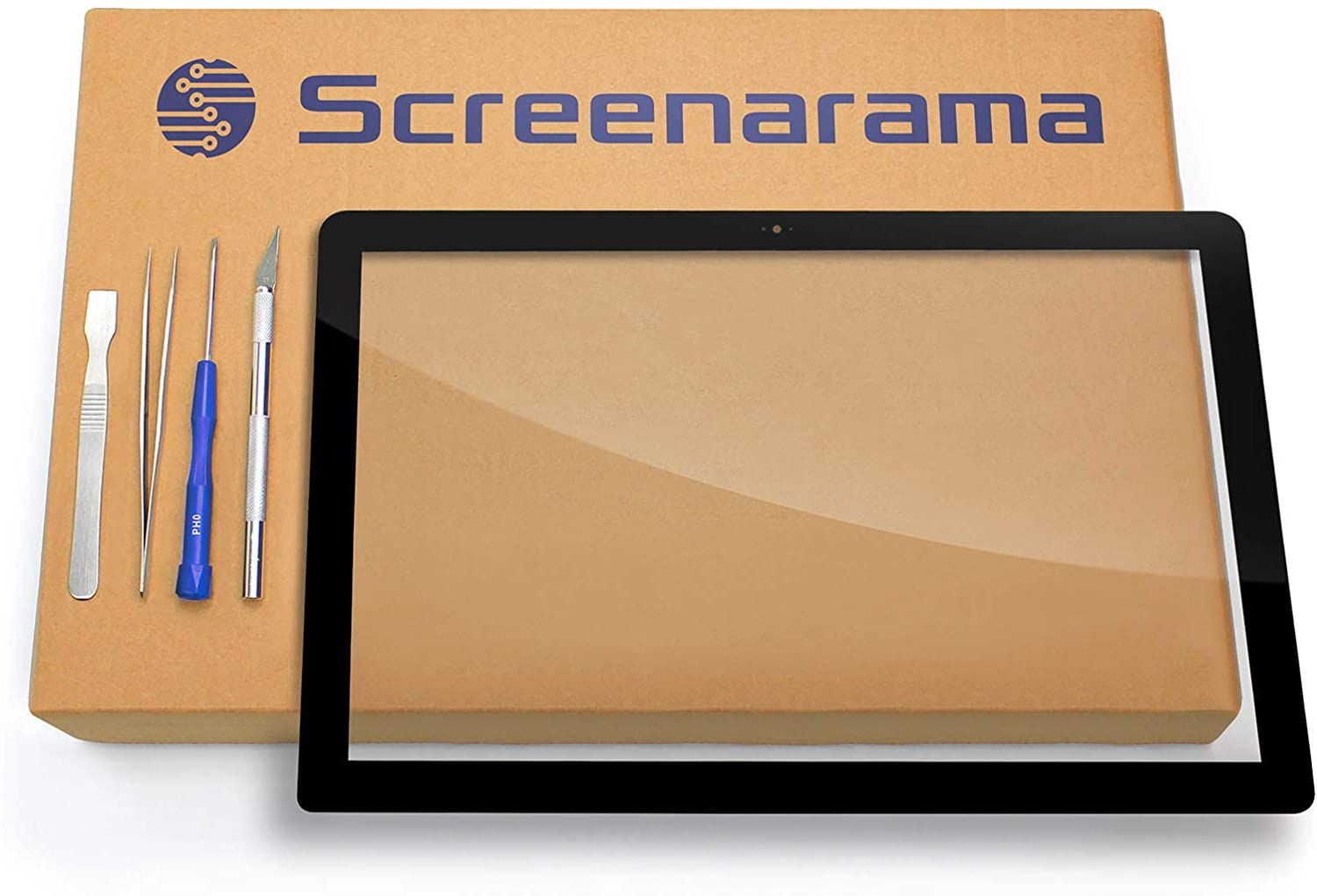 SCREENARAMA New Touch Screen Replacement for Toshiba Satellite E45T-B4106, Digitizer Glass with Tools