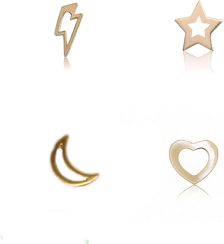 Nanna Folk - Pack pendientes little sweetie galaxy shape-plata de ...