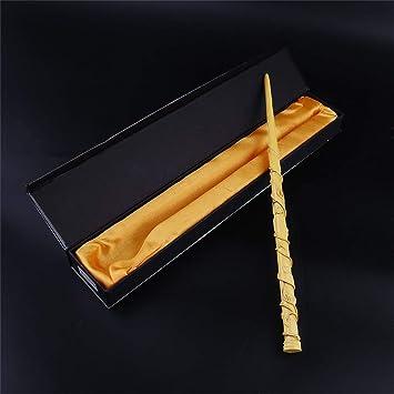 Cool Metal Core Magic Stick Cosplay para Lord Voldemort//Harry Potter Varita m/ágica color madera