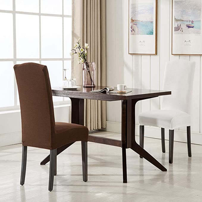 Amazon.com: TANGOGO - Funda para silla de comedor (tejido de ...
