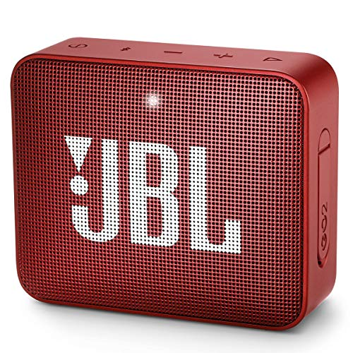 JBL GO2 Waterproof Ultra Portable Bluetooth Speaker - Red