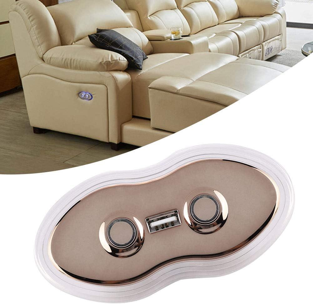 Sofa inclinable /électrique de canap/é Commande de commutateur de Main de Bouton de t/él/écommande 2 Contr/ôleur de commutateur de Chaise de 2 Boutons