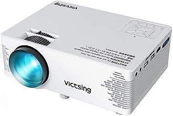 Amazon.com: VicTsing Mini Proyector, Full HD 1080P Proyector ...