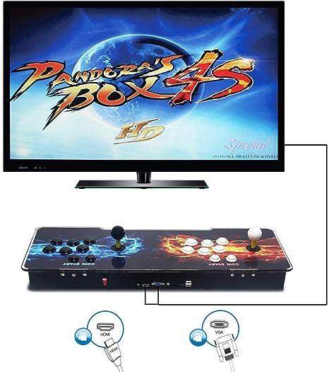 Pandora Box 6 S Heros of Storm Arcade - Consola de videojuegos (1388 en 1, doble palo, luz de consola arcada con 1388 consola de juego arcade 720P): Amazon.es: Deportes y aire libre