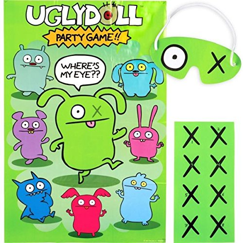 Paper 37 x 24 Cuddly Ugly Doll Party Game Activity Set