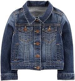 Baby and Toddler Girls Denim Jacket