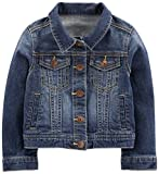 Simple Joys by Carter's Baby Girls' Denim Jacket, Medium Wash, 24 Months