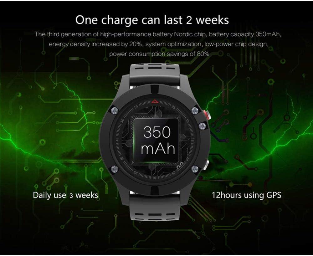 DHJWAI GPS Smart Watch modalità Sportiva Impermeabile Sleep Heart Rate Monitoraggio Dell\'Ossigeno della Pressione Sanguigna Orologio Sportivo per iOS E Android Green