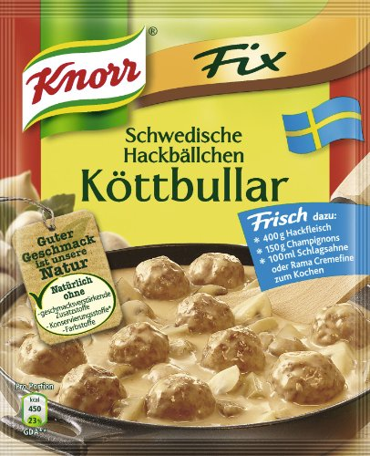 Knorr Fix Swedish Meat Balls Koettbullar
