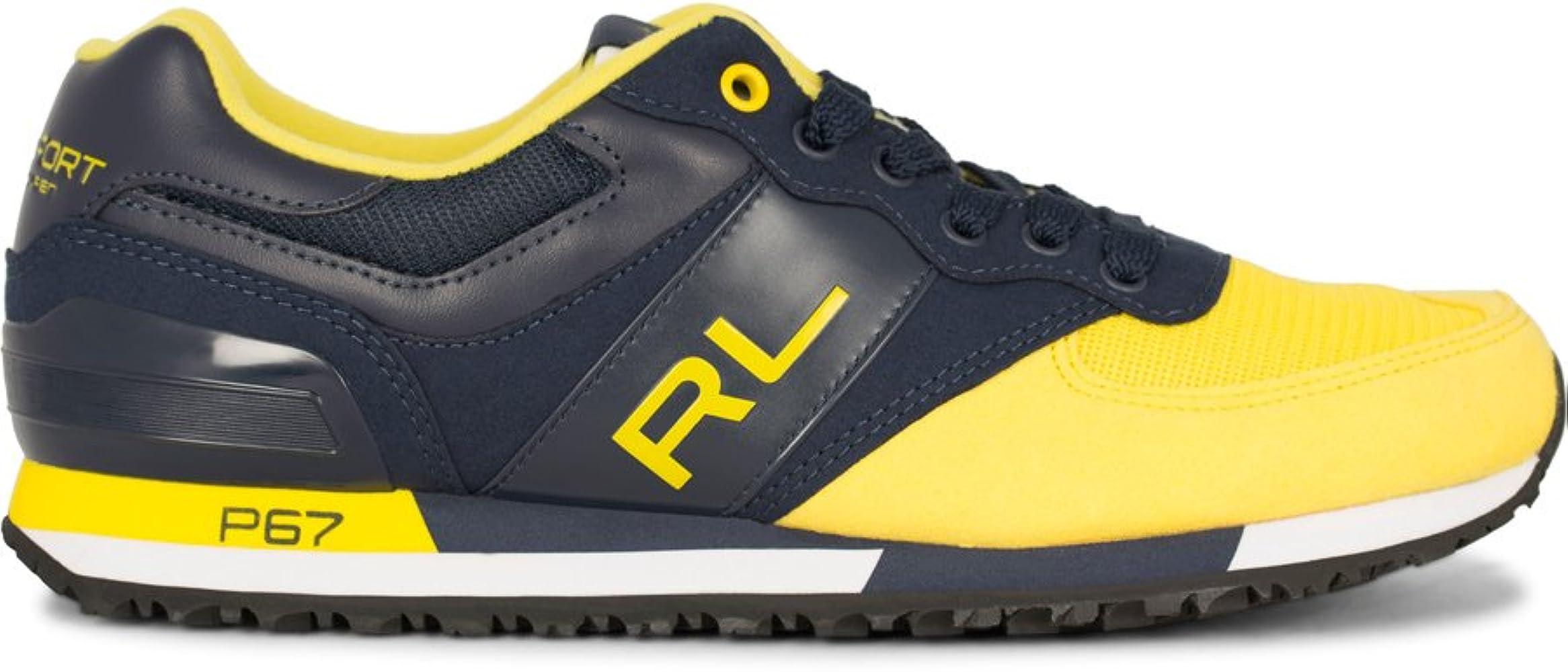 Polo Ralph Lauren - Zapatillas para Hombre Amarillo Amarillo ...