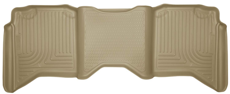 Husky Liners 19063 Tan Second Seat Fits 09-18 (10-18 2500/3500), 19 Ram 1500 Classic, Crew Cab