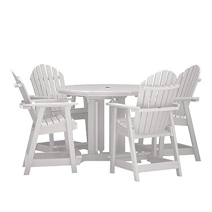 Amazon.com: Highwood Hamilton - Juego de mesa de comedor de ...
