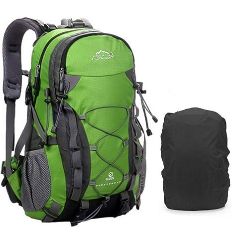30656c369b AM SeaBlue Outdoor Trekking Zaino - Multifunzione Water Resistant 40L  Leggero Zaino da escursione Zaino grande