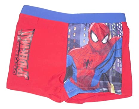 8af7407eebebd Boys swim trunks shorts official spiderman 1-10 years old (8-9 years):  Amazon.co.uk: Clothing