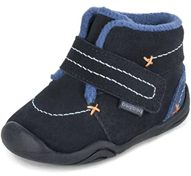 ef593bac08907 pediped Grip 'N Go Ronnie Navy (Infant/Toddler) Baby Shoe