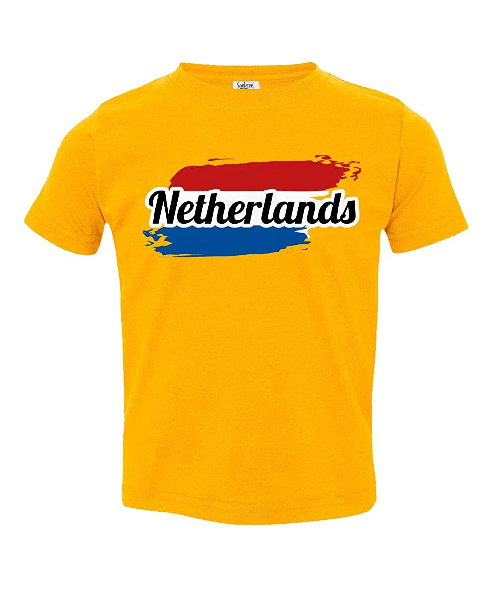 Societee Netherlands National Pride Little Kids Girls Boys Toddler T-Shirt