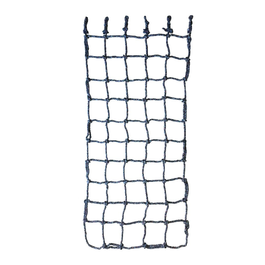 Aoneky 40'' x 80'' Climbing Cargo Net (Multi Color), Rope Climbing Toy for Kids Boys Ages 6 Year Old and up