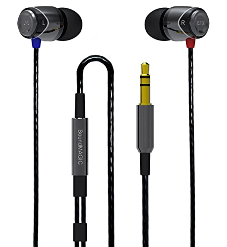 SoundMAGIC E10 Noise Isolating Earbuds