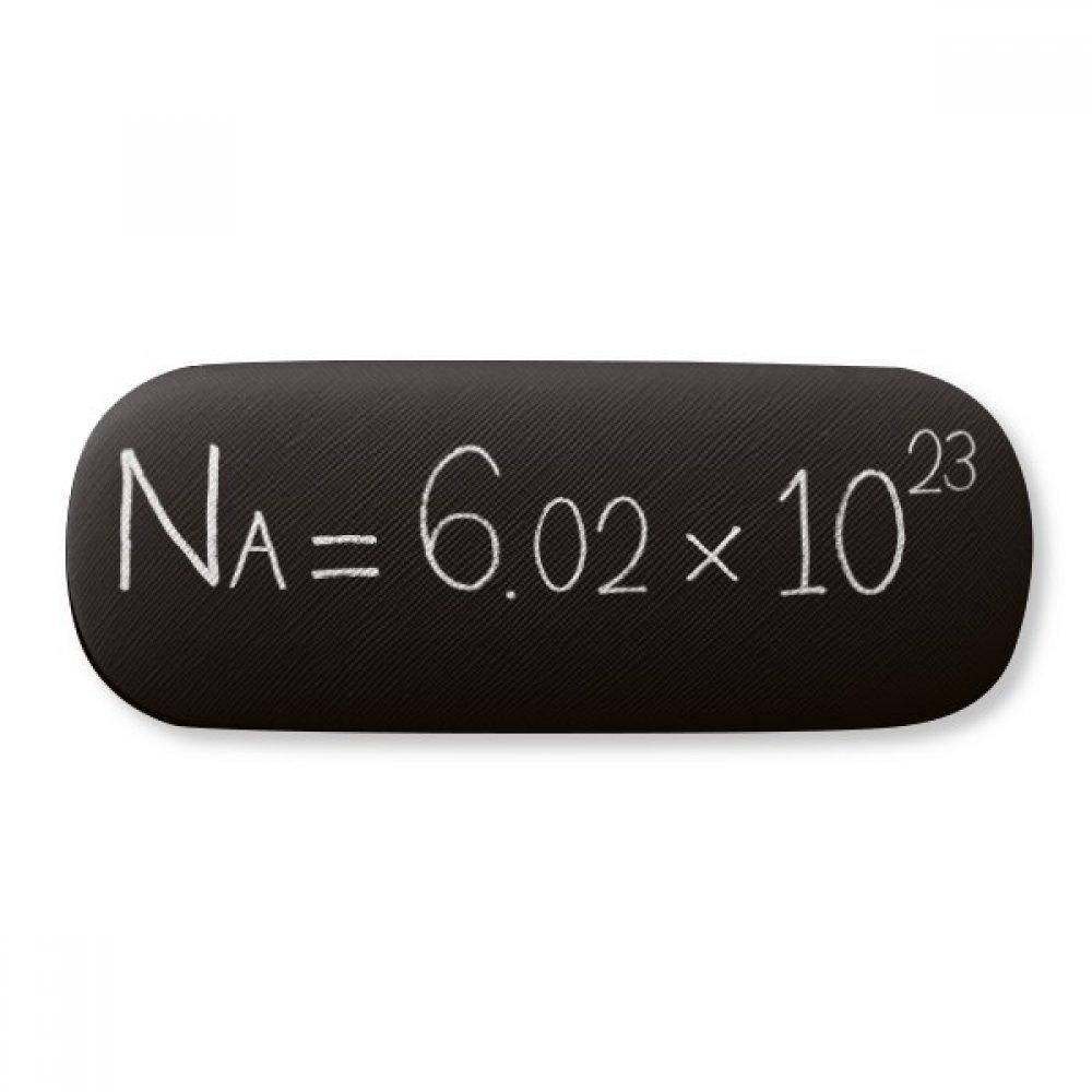 Chemistry Kowledge Avogadro Constant Glasses Case Eyeglasses Clam Shell Holder Storage Box