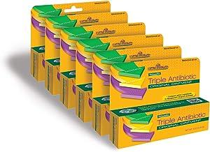 Natureplex Triple Antibiotic Original Ointment 0.33 Ounce Tube 6 Pack