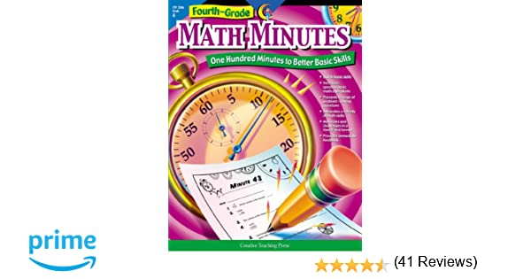 Amazon.com: Math Minutes, 4th Grade (9781574718157): Alaska Hults ...