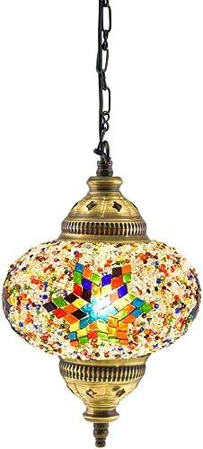 18 Variations Newest CopperBull 2018 Turkish Moroccan Tiffany Style Handmade Mosaic Hanging Ceiling Lamp Light Pendant Fixture Lantern 3