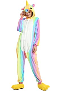Taiyi Homewear Childrens Unicorn Plush One Piece Onesie Cosplay Animal Costume