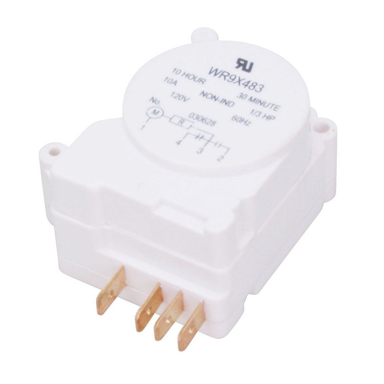 WR9X483 Refrigerator Defrost Timer Replacement for GE, Hotpoing, Kenmore