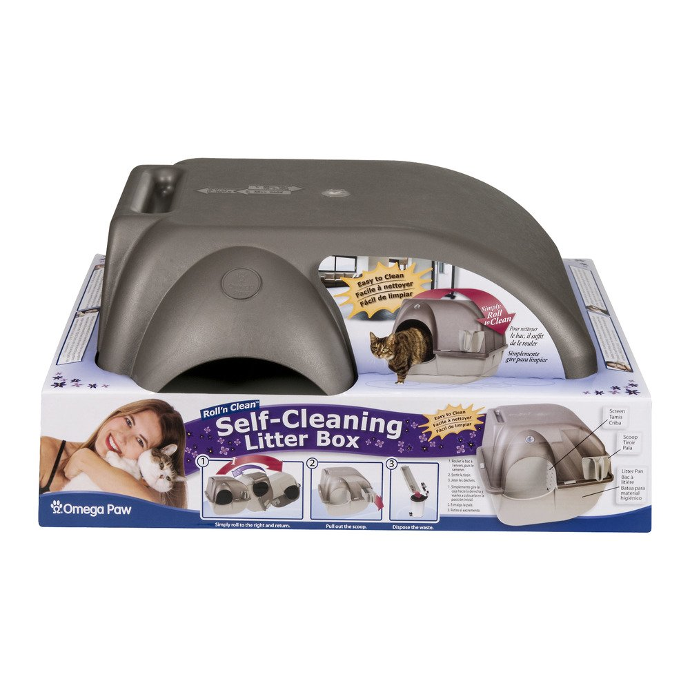 (Regular) Roll n Clean Self Cleaning Litter Box