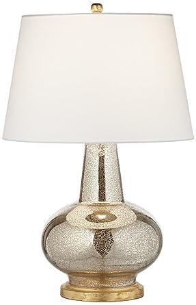 Errol Long Neck Gourd Mercury Glass Table Lamp