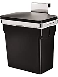 Simplehuman 10 Liter/2.6 Gallon In Cabinet Kitchen Trash Can, Heavy Duty