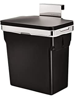 Simplehuman 10 Liter / 2.6 Gallon In Cabinet Kitchen Trash Can, Heavy Duty