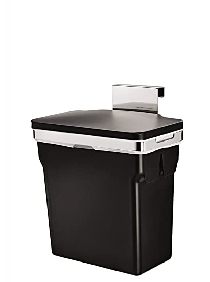 Amazon.com: simple 10 Liter / 2.6 Gallon In-Cabinet Kitchen ... on trash cans for walls, trash cans for glass, trash cans for chairs, trash cans for custom cabinets, trash cans for home, trash cans for restaurants, trash cans for drawers, trash cans for storage,