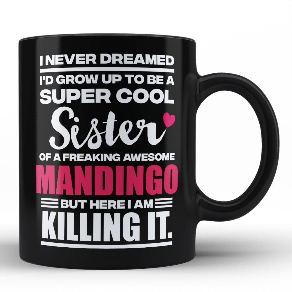 Amazon.com: Mejor Mandingo taza – Mandingo nunca Regalos ...