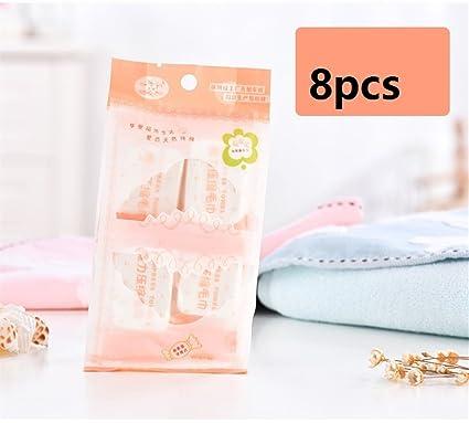 Huihuger Toallas de algodón puro natural Toallas comprimidas reutilizables comprimidas Toalla de toalla mágico comprimida desechable