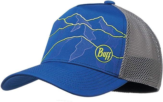 02cf0dc700b Amazon.com  Buff Trucker Tech M L Solid Cape Blue - Cap  Clothing