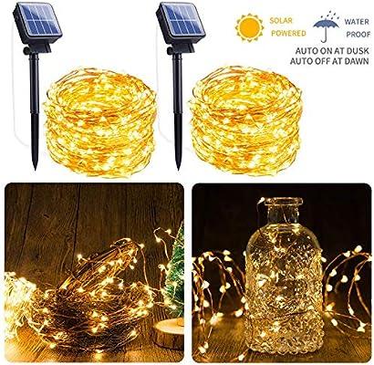 200 LED Solar Power Fairy Lights String Lamps Party Xmas Decor Garden Outdoor Z