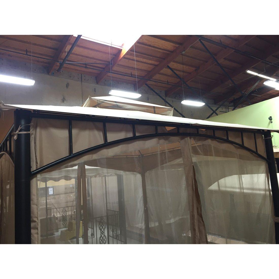 Garden Winds Replacement Canopy for The Gardena Gazebo - 350