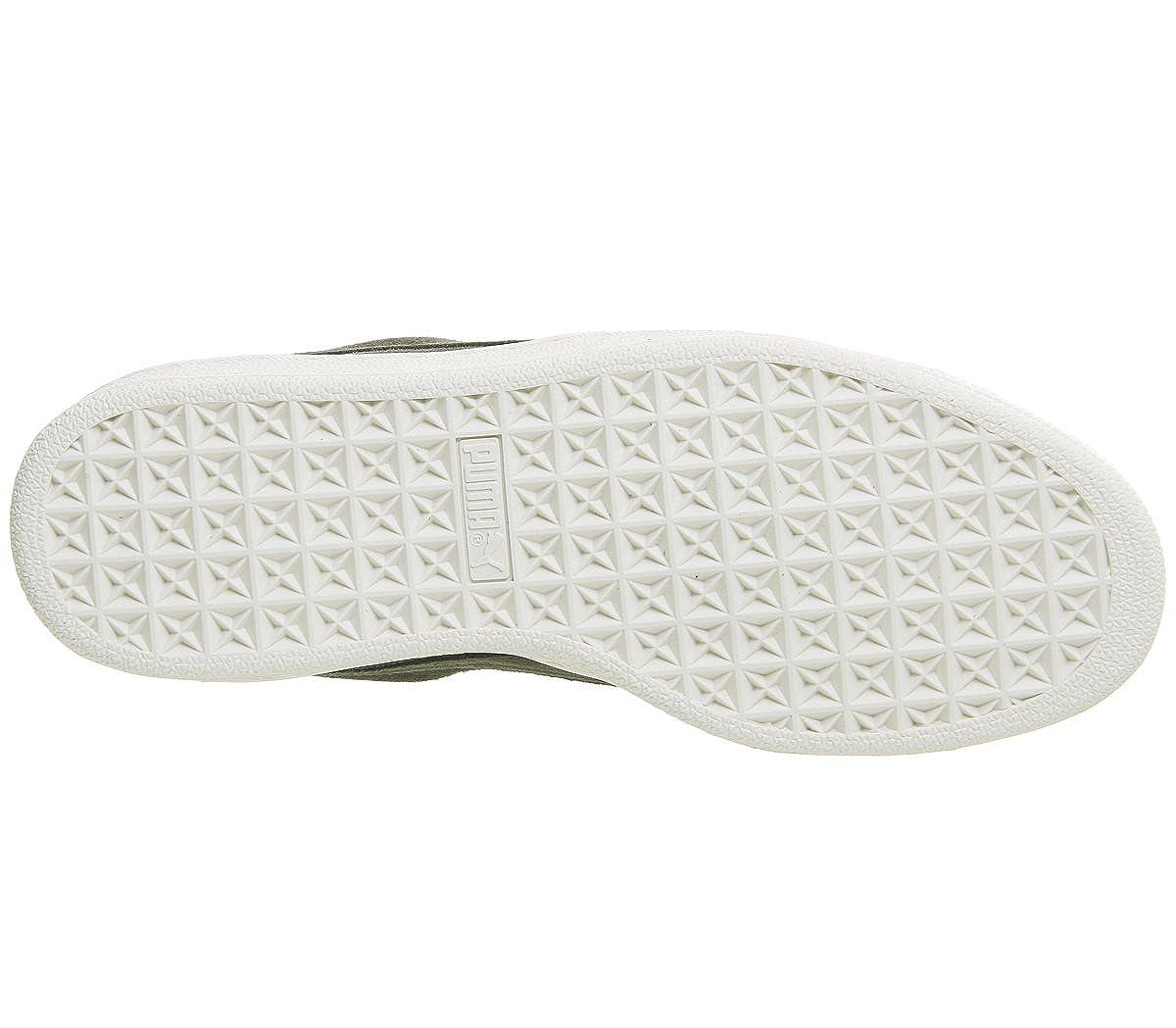 Puma Damen Suede Heart 001) Velvet Rope 365111-01 Sneaker Mehrfarbig (Khaki 001) Heart 901752