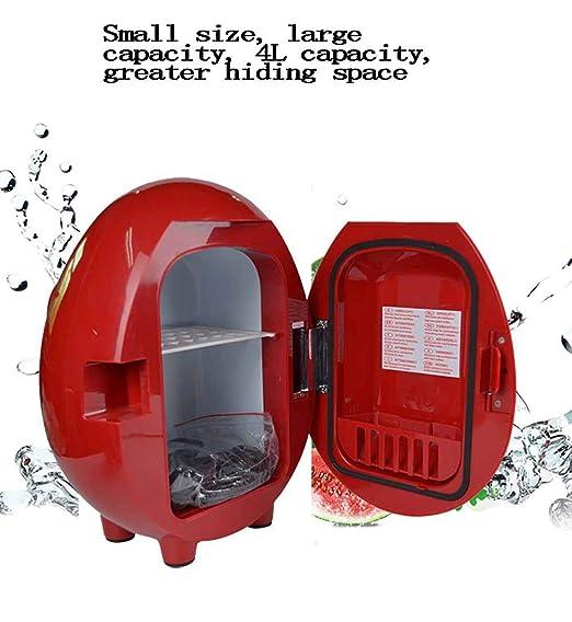 ZHENHUA Mini Nevera - refrigerador de 6 latas para refrescos o ...