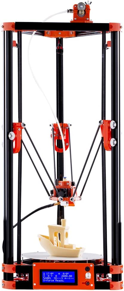 FLSUN Impresora 3D, Kit 3D DIY Delta Kossel, 3D Imperasora con ...