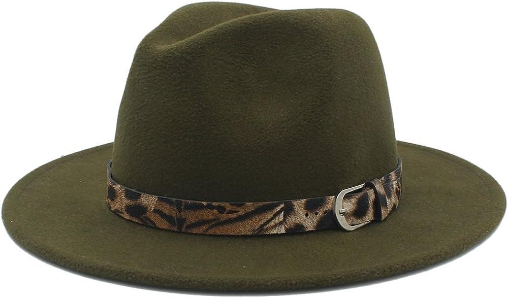 Ruanyi Wool Fedora Hat With...